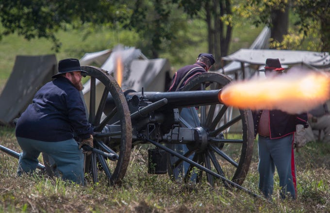 Civil War reenactors are becoming part of history
