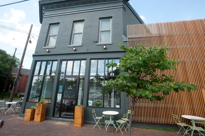 Naive, a restaurant on E. Washington St.September 20, 2018