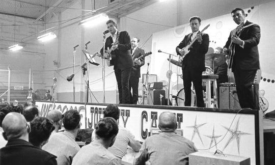 "The documentary ""Johnny Cash at Folsom Prison"" screens Wednesday at Rhodes College."