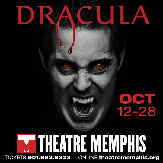 Drac's back! At Theatre Memphis, starting this weekend.