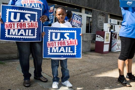 2 - USPS Protest