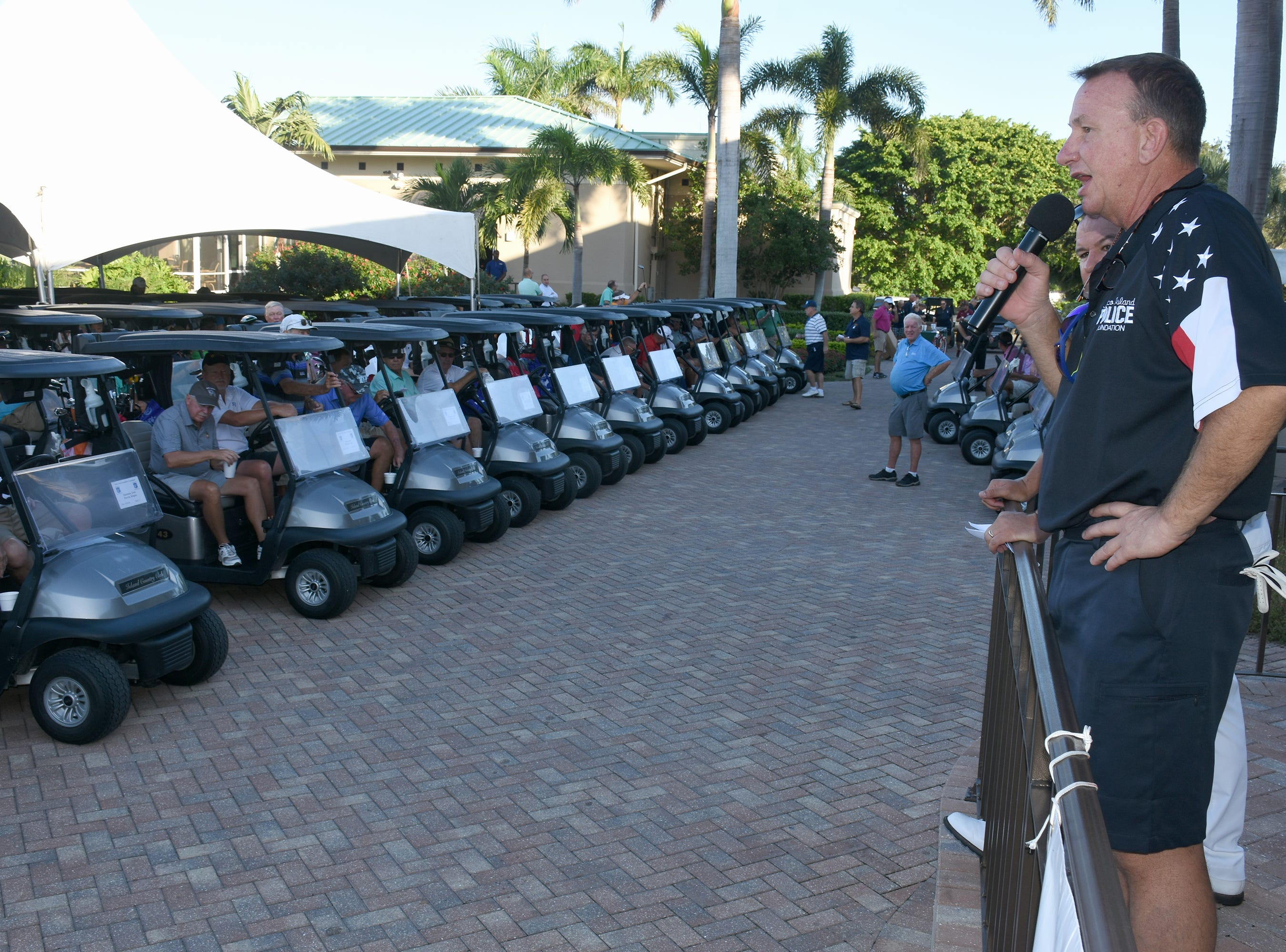The Marco Police Foundation held their annual golf event Saturday morning on the Island Country Club course.