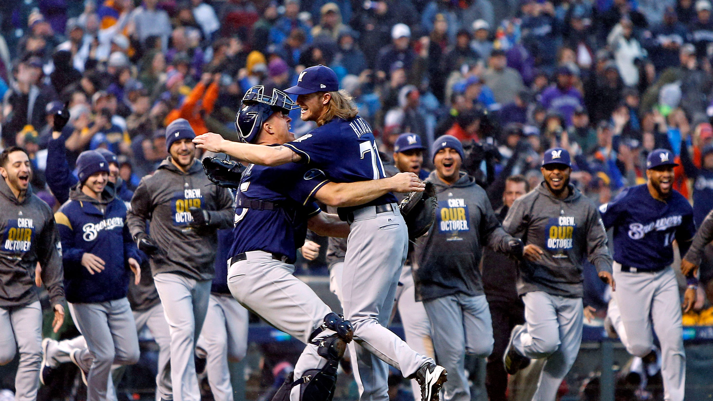Brewers Podcast A Dominant Showing In The Playoffs Vs