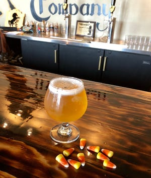 Move over, pumpkin beer. Westallion Brewing makes a Candy Corn Cream Ale.
