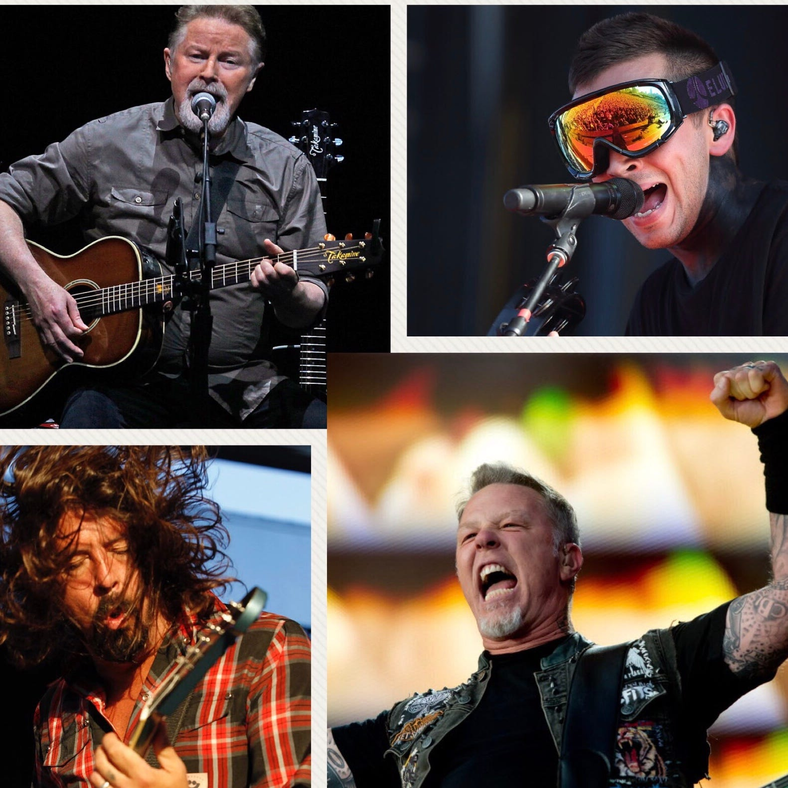 With Metallica, Foo Fighters, Eagles and the Bucks opener, we've never had a week like this