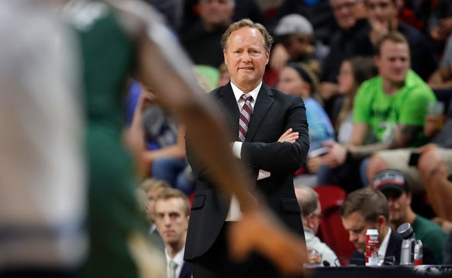 Bucks players are getting used to the way new coach Mike Budenholzer conducts the team's activities.