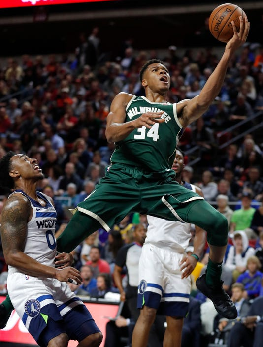 Giannis Antetokounmpo Jeff Teague