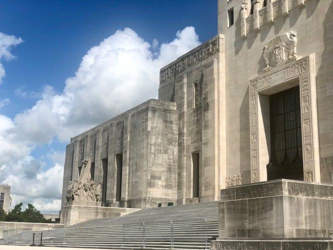 Louisiana State Capitol, summer 2018