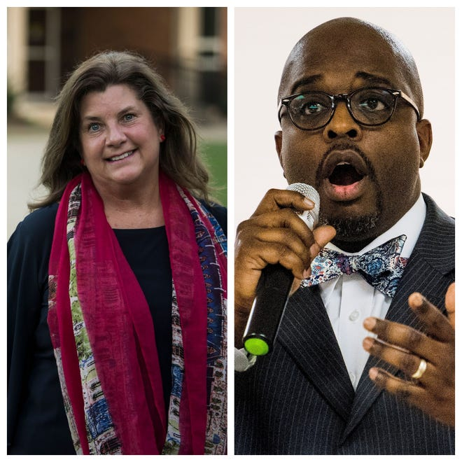 Lesa Keith and Marcus Vandiver are competing for the District 1 Board of Education seat.