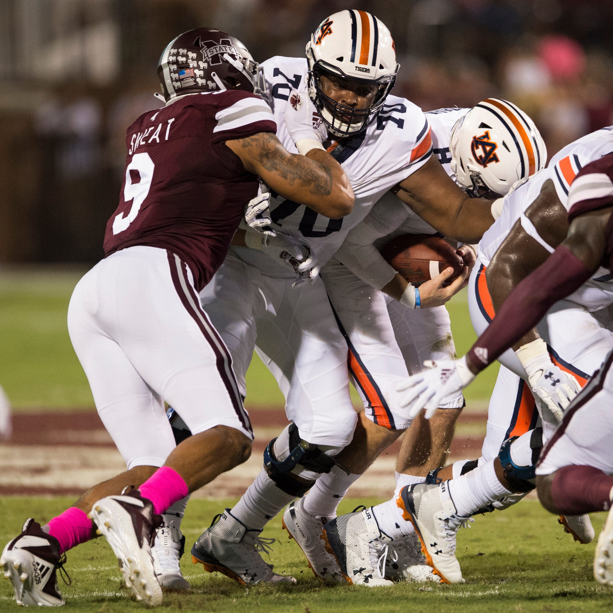 Former 5-star Calvin Ashley intends to transfer, further decreasing Auburn's offensive line depth