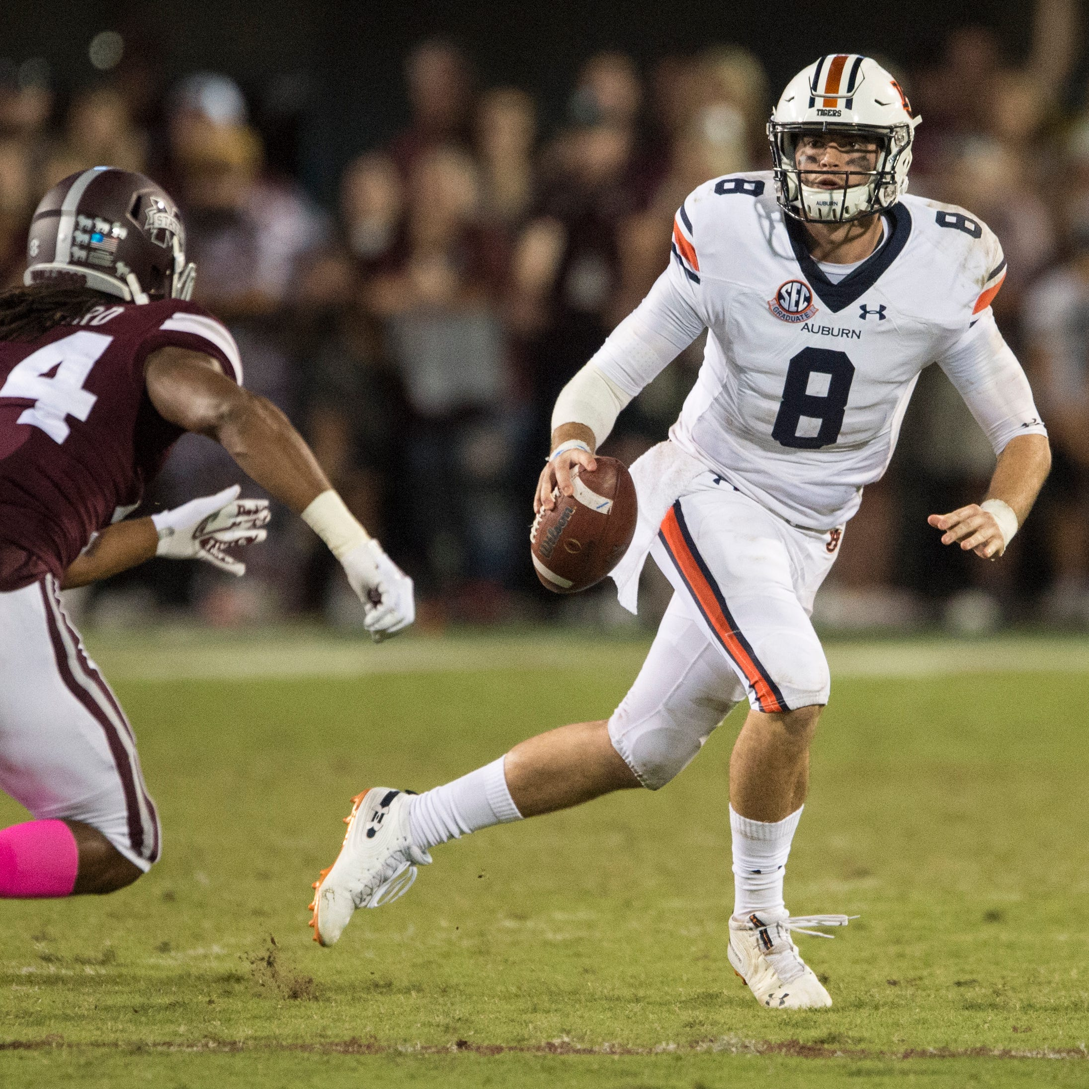 UT Vols vs. Auburn: Predictions don't have Tigers covering the big point spread
