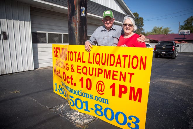 Jack and Lil Reynolds will be retiring after having operated Southside Motors for more than 50 years. The business at 2807 S. Walnut St. will have an auction to get rid of shop equipment and remaining vehicles.