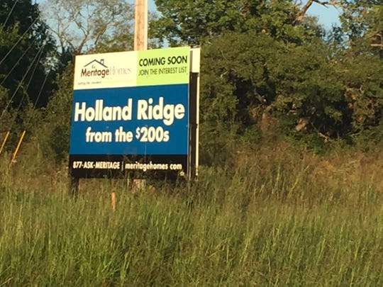 Holland Ridge is one of multiple developments approved to build near the State Route 109 and Interstate 40 corridor in Lebanon.