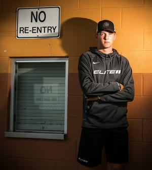 Brian Maurer, a quarterback at West Port High School in Ocala, Fla., is a Tennessee commitment.  Doug Engle / Ocala Star-Banner Brian Maurer, the quarterback at West Port High School in Ocala, Fla.