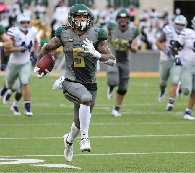 Former Beech and Tennessee running back Jalen Hurd is now playing wide receiver at Baylor and is ranked in the top 25 in several national statistical categories.