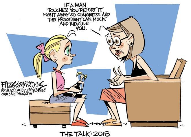 Talk cartoon