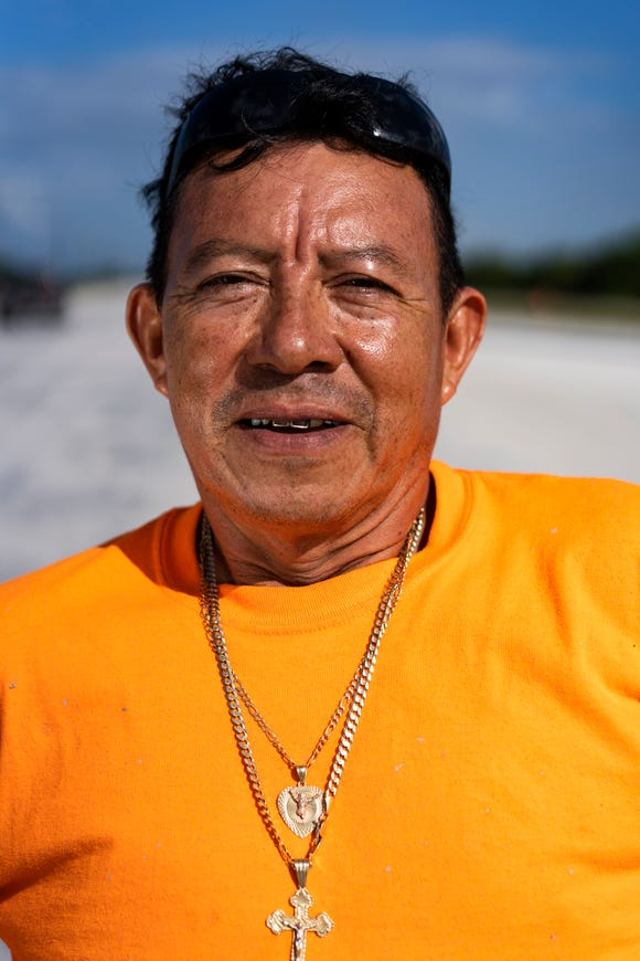 Jesus Buandia, 49, a native of El Salvador.