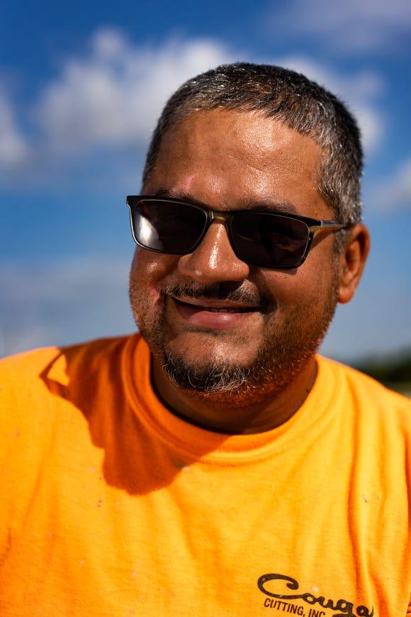 Ray Gonzalez, 38, a native of Ohio.