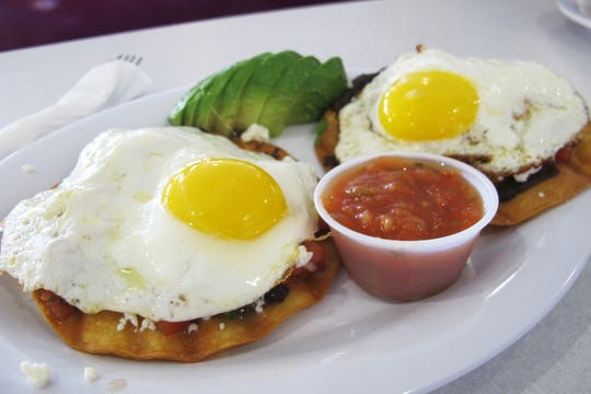 Huevos Ranchero at LuLu B's Diner, which recently opened in Green Tree Center at Airport-Pulling and Immokalee roads in North Naples.