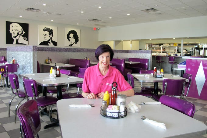 After operating Lulu B's Grill for more than 20 years, Jeri Holecek recently launched LuLu B's Diner nearby at Green Tree Center in North Naples.