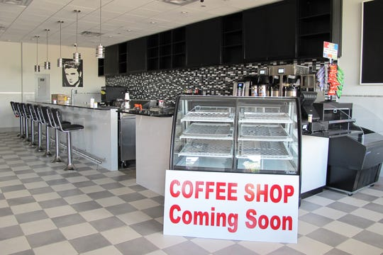 A coffee shop is coming soon adjoining the new LuLu B's Diner, which recently opened in Green Tree Center at Airport-Pulling and Immokalee roads in North Naples.