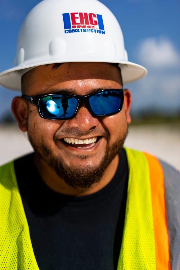 Eli Santamaria, 33, a native of Mexico.