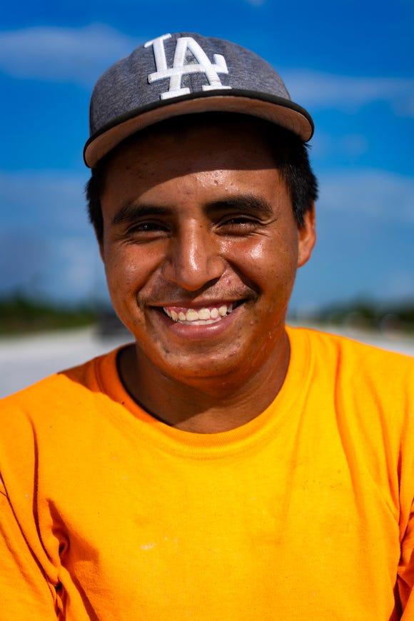 Jose Soto, 23, a native of Mexico.