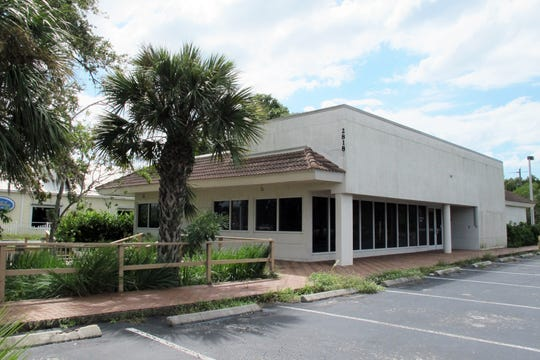 A Popeyes Louisiana Kitchen drive-thru restaurant is proposed for this former Citibank and Burger King location on the western side of U.S. 41 south of Bonita Beach Road in Bonita Springs.