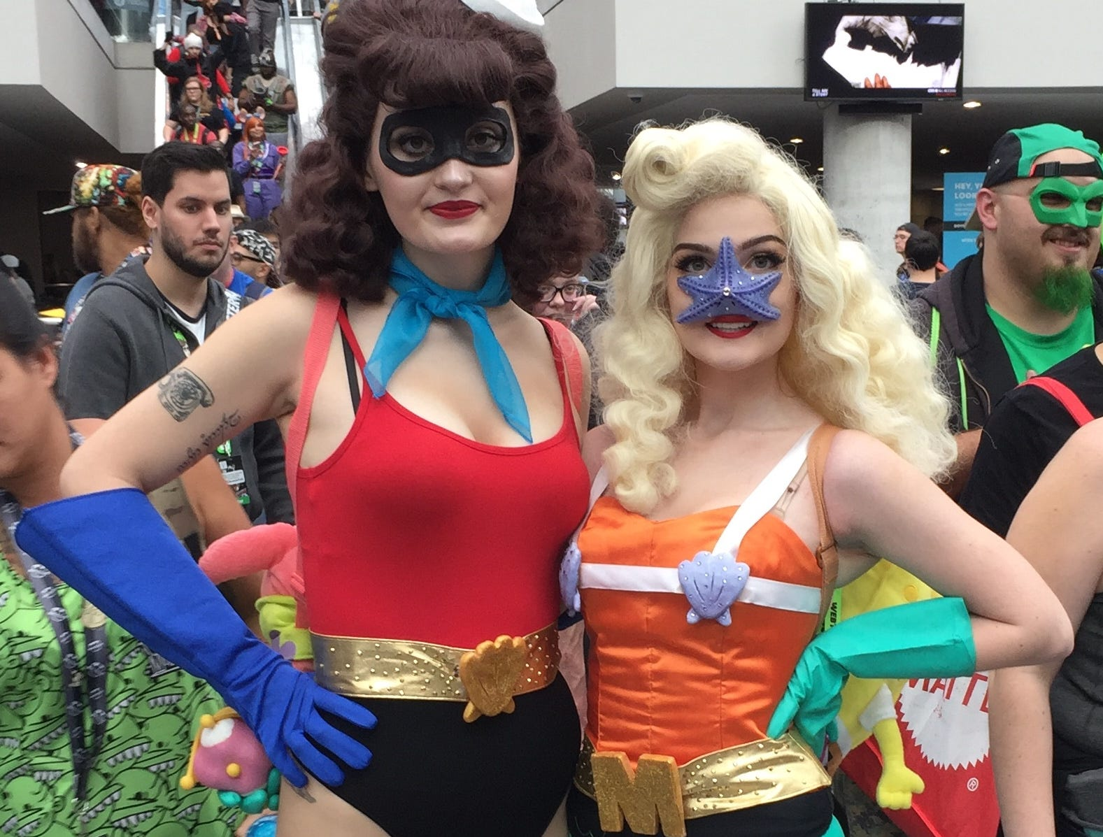 Scenes from the final day of New York Comic on Sunday, Oct. 7, 2018