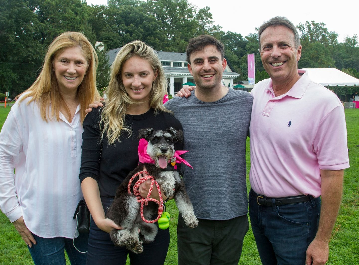 Beth, Leslie, Ross,  Jay Nadel. Englewood Health Foundation hosted its 2018 Walk for Awareness and Susan Lucianna Memorial Dog Walk dedicated in memory of Walk for Awareness co-founder Paul Fader, Esq. 10/07/2018
