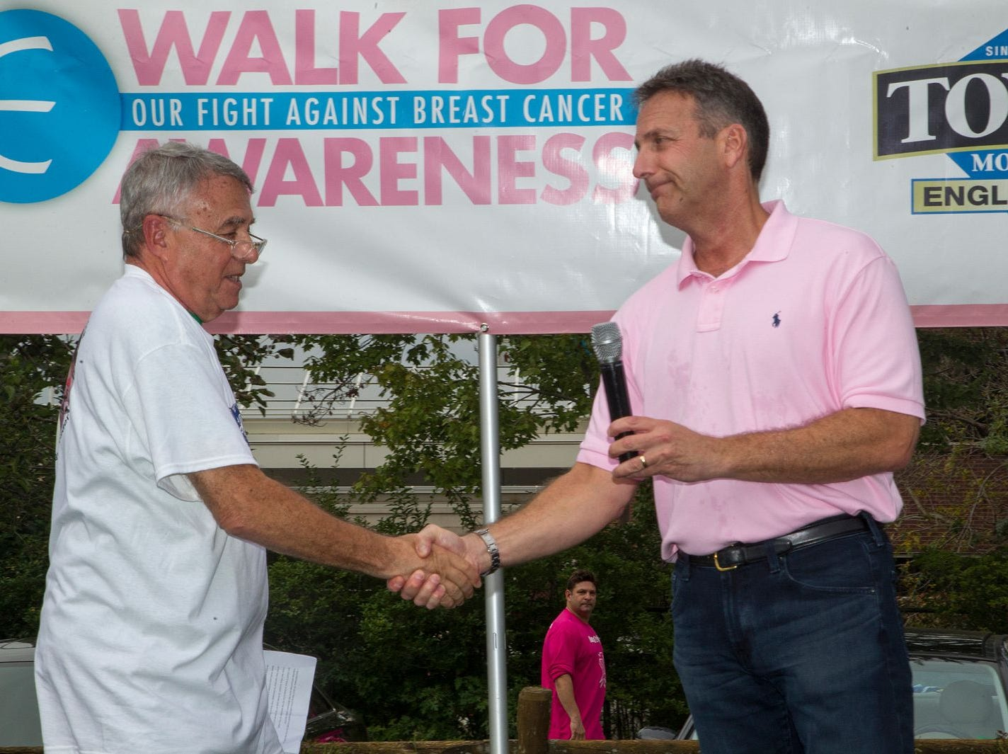 Dr. Sanchez and Jay Nadel. Englewood Health Foundation hosted its 2018 Walk for Awareness and Susan Lucianna Memorial Dog Walk dedicated in memory of Walk for Awareness co-founder Paul Fader, Esq. 10/07/2018