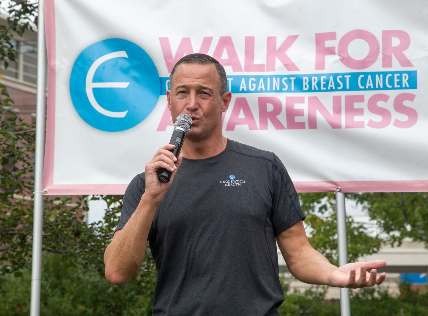 Warren Geller. Englewood Health Foundation hosted its 2018 Walk for Awareness and Susan Lucianna Memorial Dog Walk dedicated in memory of Walk for Awareness co-founder Paul Fader, Esq. 10/07/2018