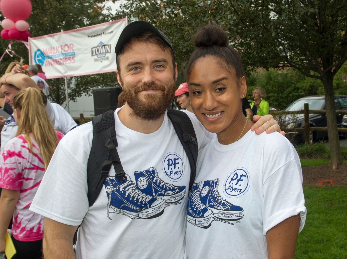 Kevin and Nadia. Englewood Health Foundation hosted its 2018 Walk for Awareness and Susan Lucianna Memorial Dog Walk dedicated in memory of Walk for Awareness co-founder Paul Fader, Esq. 10/07/2018