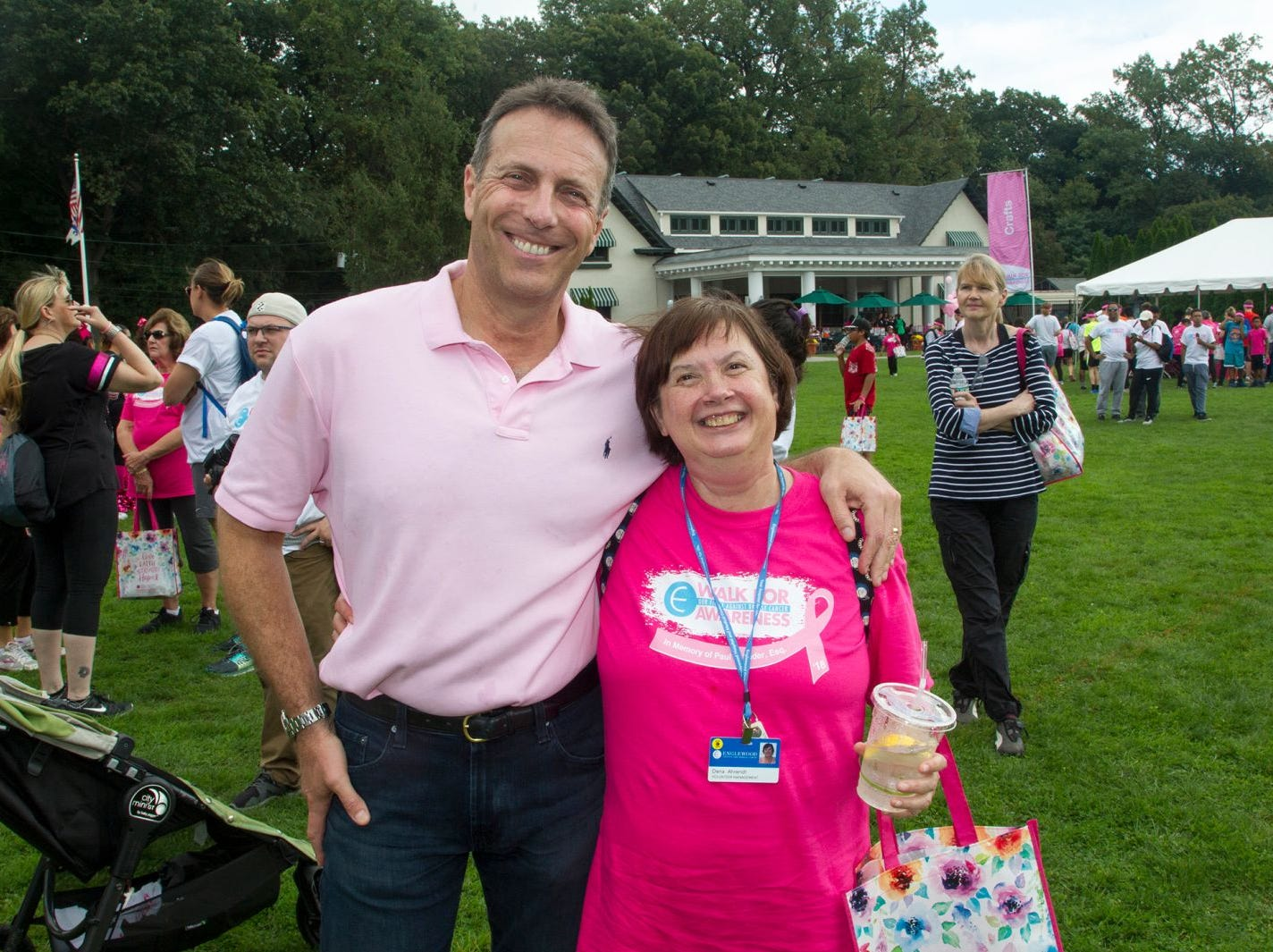 Jay Nadel and Dena Ahrendt. Englewood Health Foundation hosted its 2018 Walk for Awareness and Susan Lucianna Memorial Dog Walk dedicated in memory of Walk for Awareness co-founder Paul Fader, Esq. 10/07/2018
