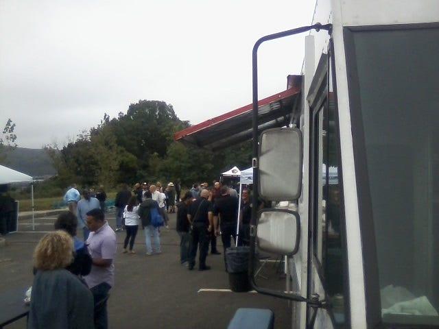 Monday's food truck festival