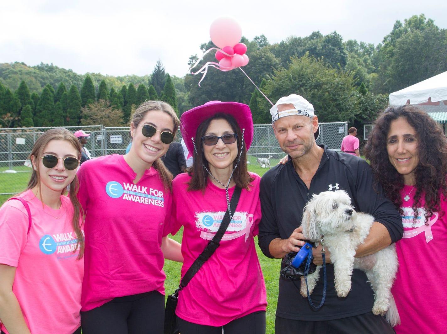 Danielle, Lauren, Shari, Mark, Nikki, Carolyn. Englewood Health Foundation hosted its 2018 Walk for Awareness and Susan Lucianna Memorial Dog Walk dedicated in memory of Walk for Awareness co-founder Paul Fader, Esq. 10/07/2018