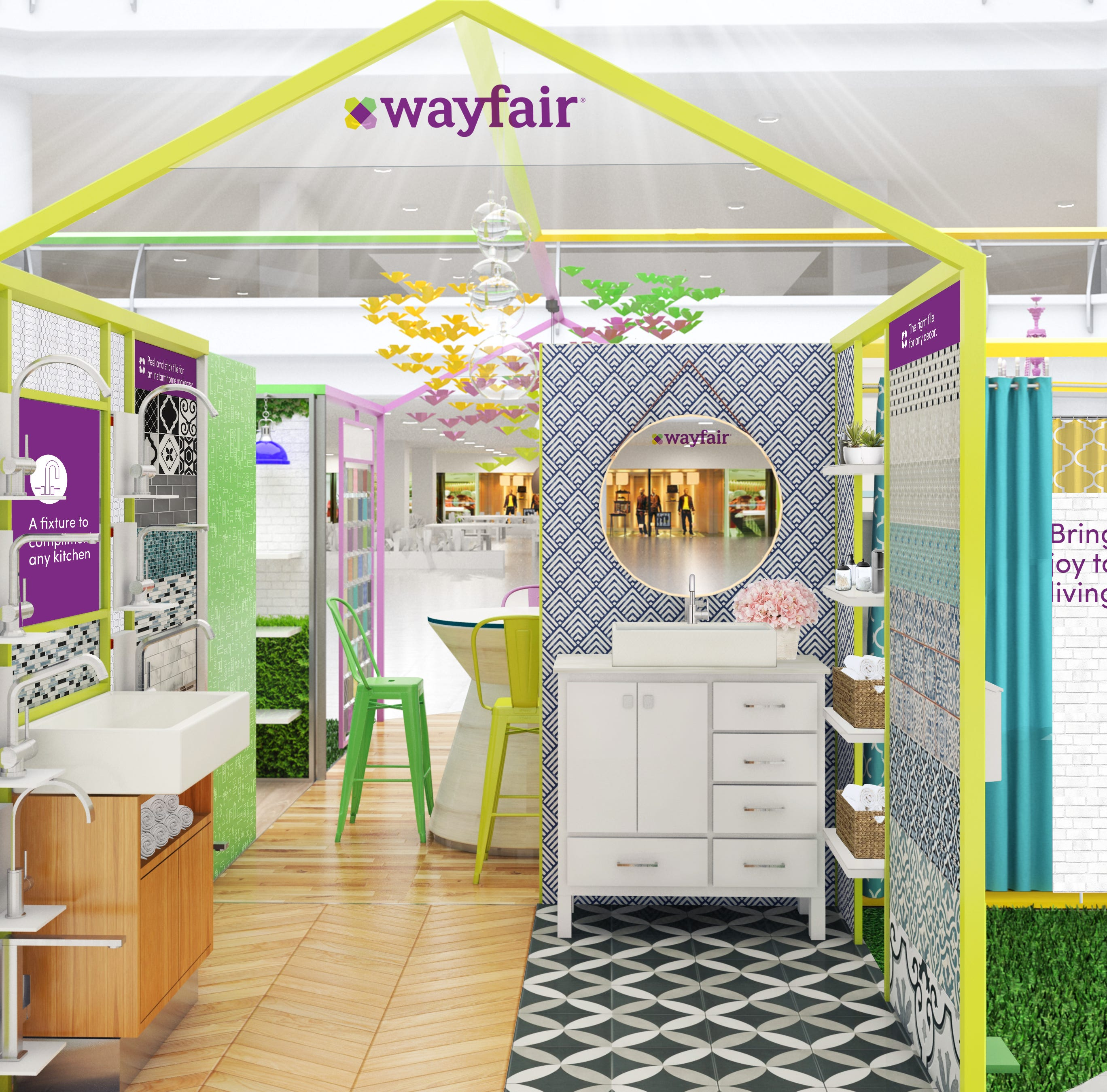 Online furniture seller Wayfair to open pop-up shop in Paramus mall