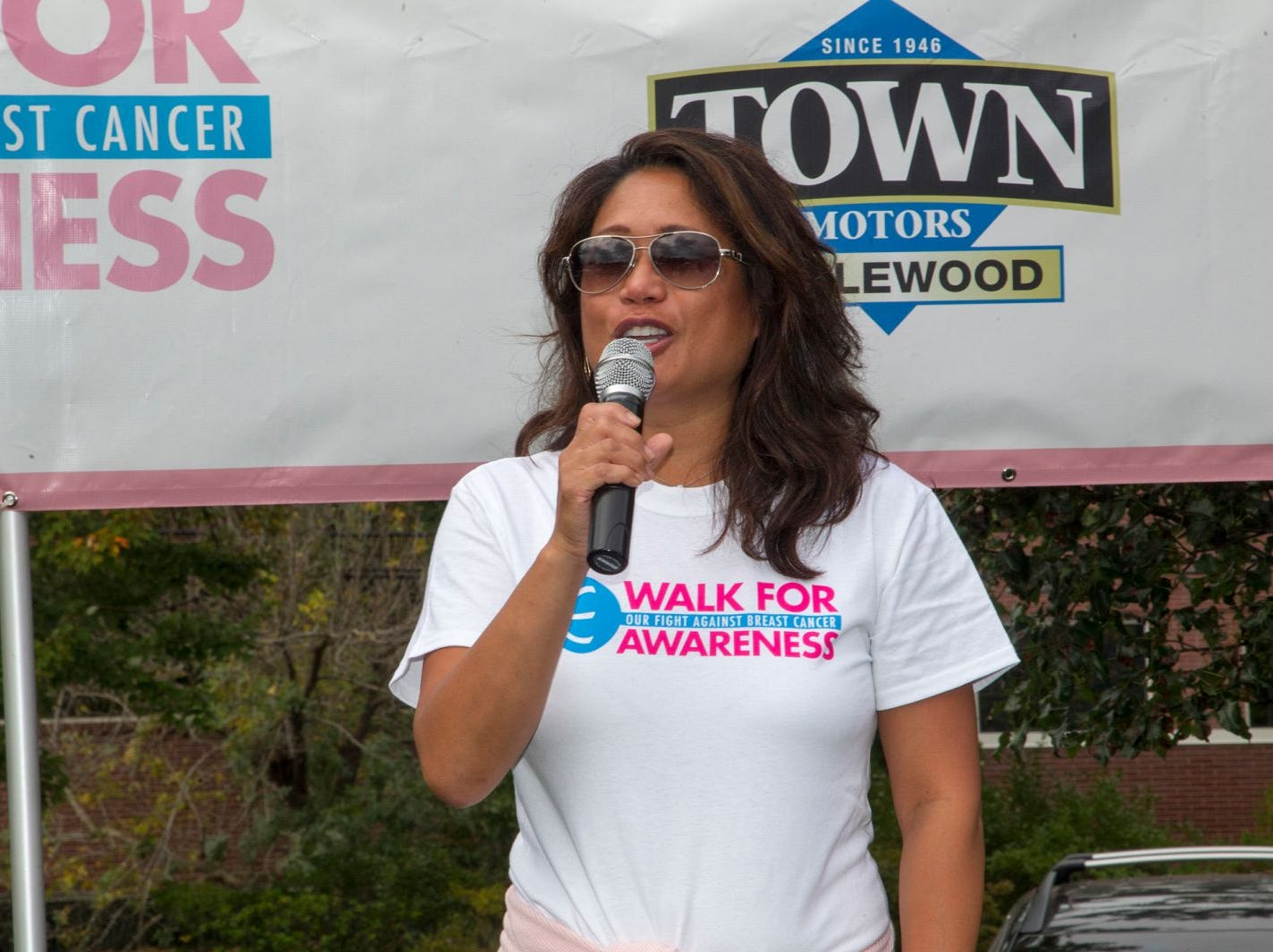 Nina Pineda. Englewood Health Foundation hosted its 2018 Walk for Awareness and Susan Lucianna Memorial Dog Walk dedicated in memory of Walk for Awareness co-founder Paul Fader, Esq. 10/07/2018