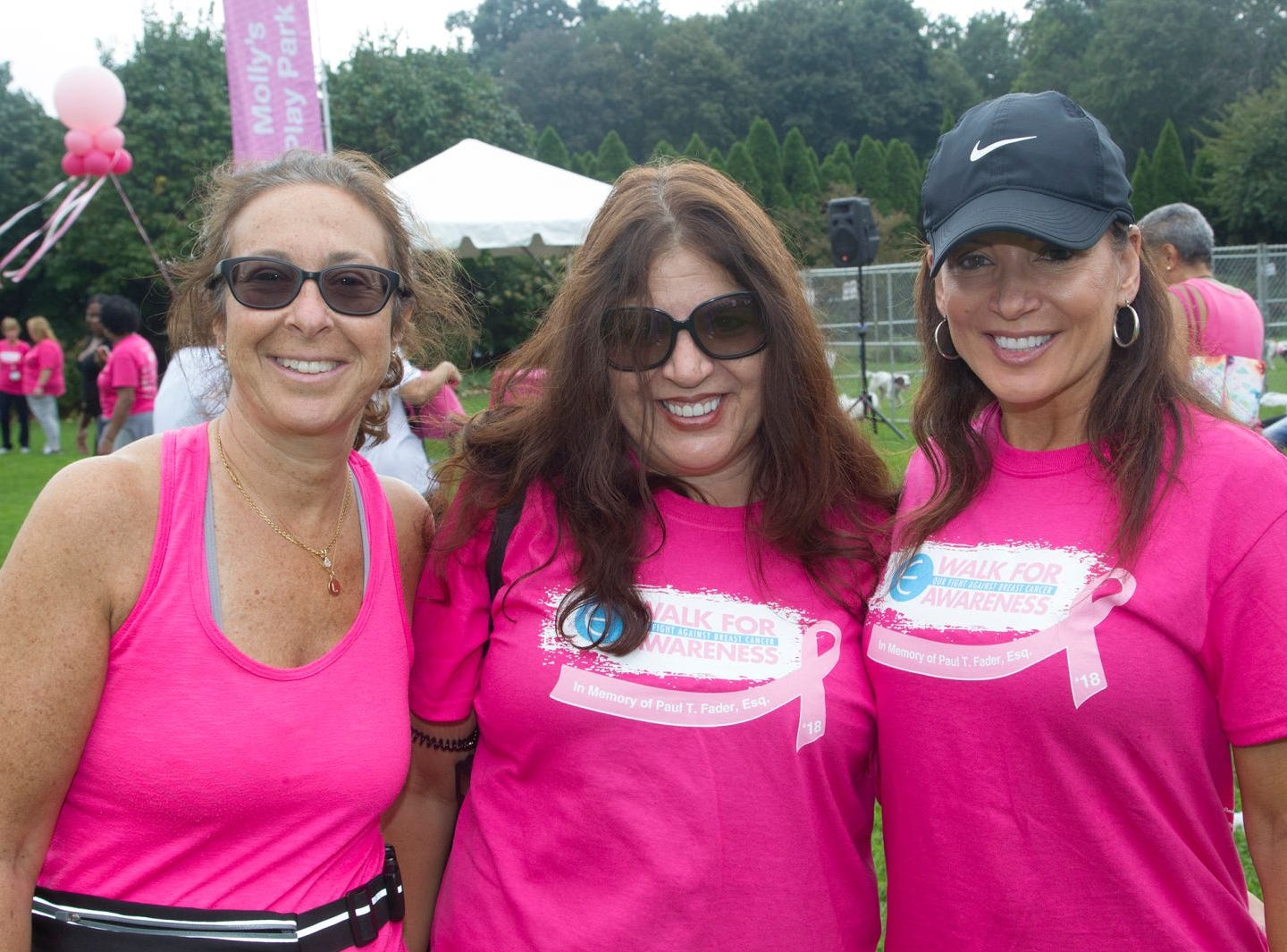 Kathy, Darlene, Sienna. Englewood Health Foundation hosted its 2018 Walk for Awareness and Susan Lucianna Memorial Dog Walk dedicated in memory of Walk for Awareness co-founder Paul Fader, Esq. 10/07/2018