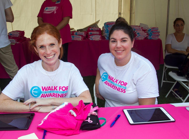 Katie Katz, Kristen Matthews. Englewood Health Foundation hosted its 2018 Walk for Awareness and Susan Lucianna Memorial Dog Walk dedicated in memory of Walk for Awareness co-founder Paul Fader, Esq. 10/07/2018