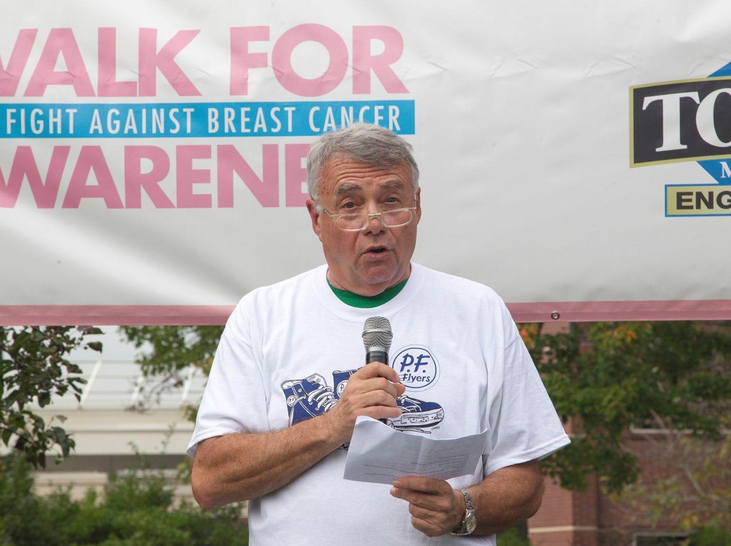 Dr. Sanchez. Englewood Health Foundation hosted its 2018 Walk for Awareness and Susan Lucianna Memorial Dog Walk dedicated in memory of Walk for Awareness co-founder Paul Fader, Esq. 10/07/2018