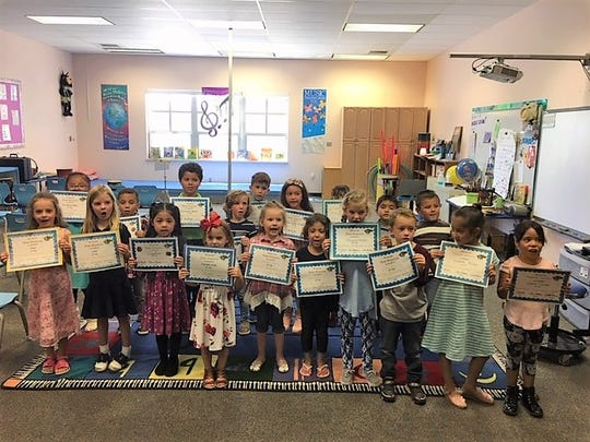 'Wee Warriors' are recognized for their hard work at Sierra Vista Primary.