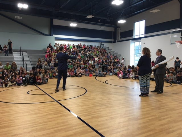 Exceptional students are awarded at Sierra Vista Primary assembly.