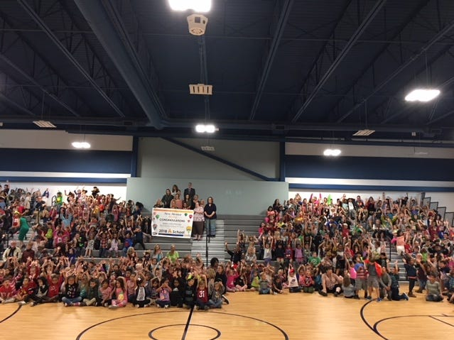 Ruidoso students attend assembly supporting and honoring exceptional students.