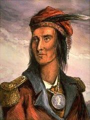 Chief Tecumseh.