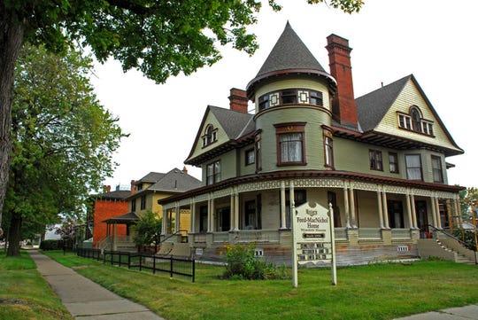 Historic Ford-MacNichol Home in Wyandotte, Michigan.