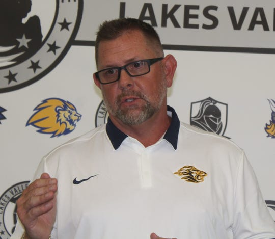 Jeff Henson South Lyon head coach