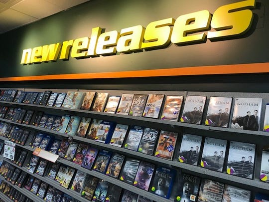 The new releases section of Family Video still generates the most interest.
