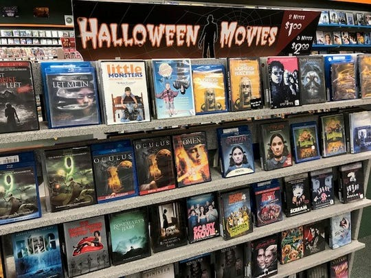 It's Halloween season and Family Video has a vast selection of scary flicks.