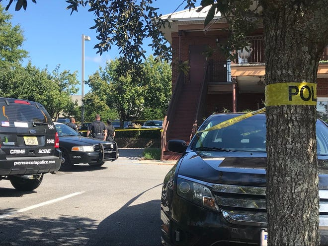 Pensacola police are investigating after a body was discovered outside a North 12th Avenue business Monday.
